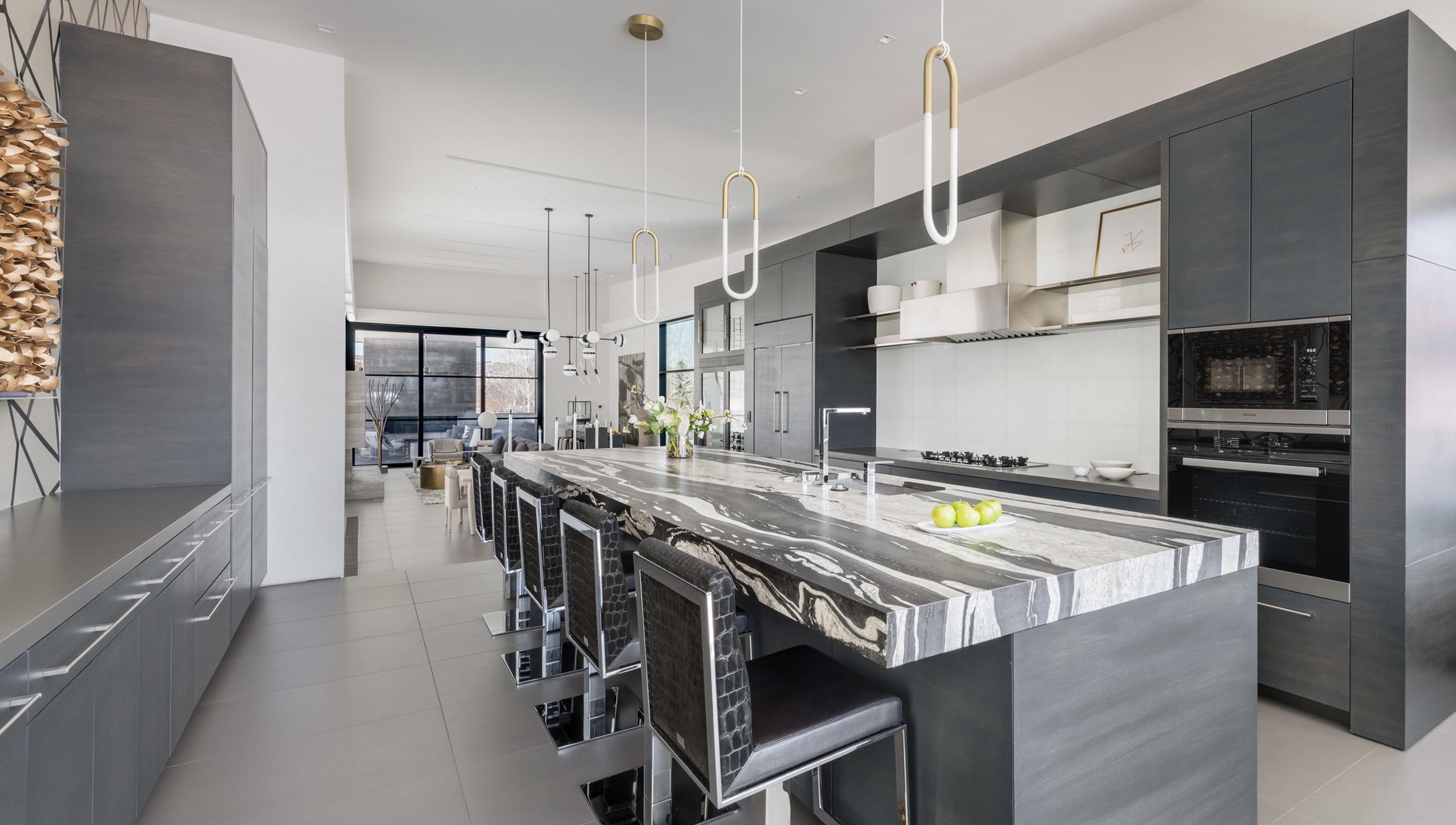 Ccy Architects Maroon Creek Overlook Kitchen