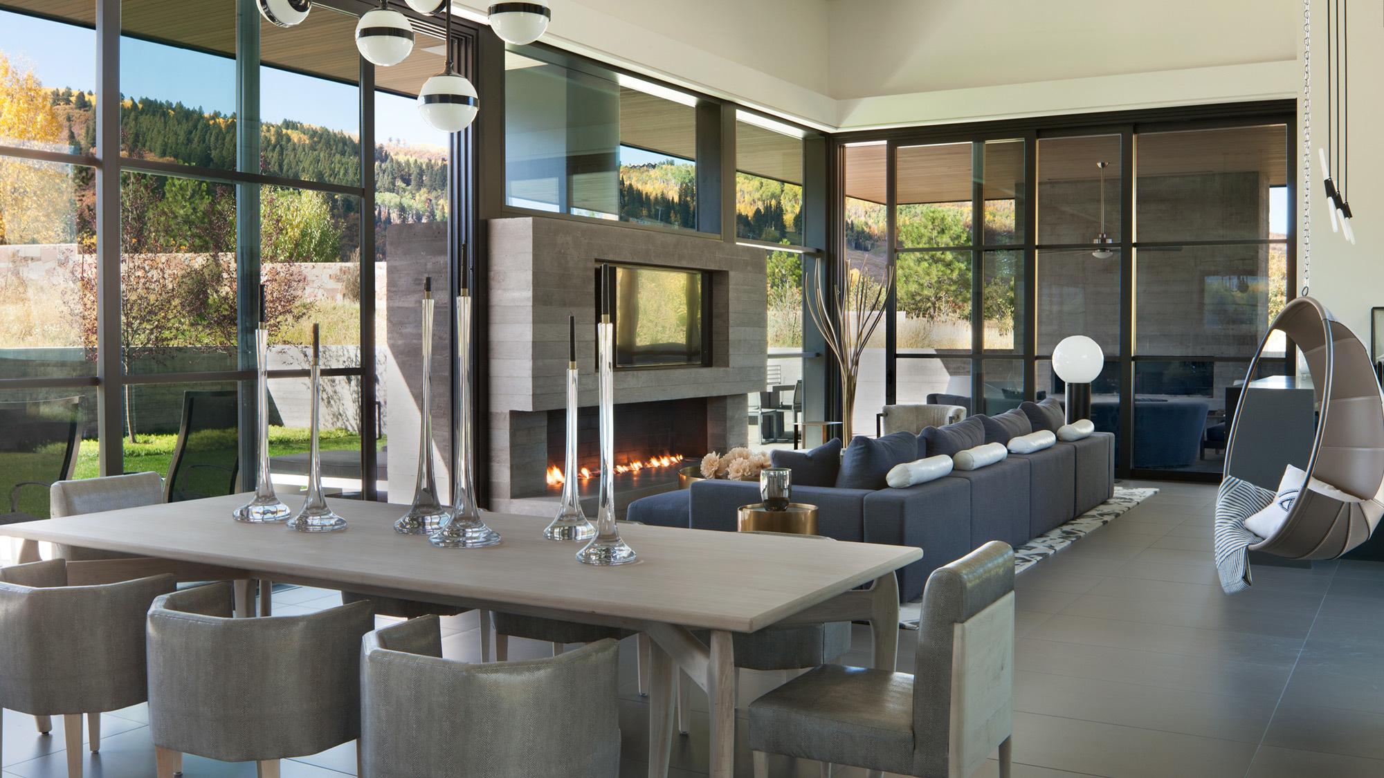 Maroon Creek Overlook Living Room